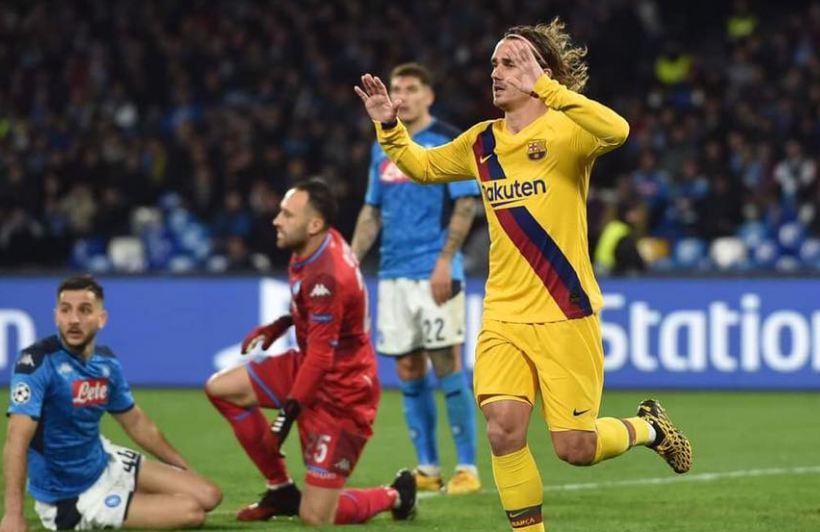 برشلونة يعود من السان باولو بتعادل ثمين امام نابولي