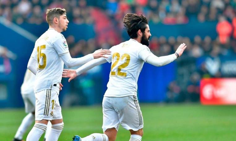 ريال مدريد يضرب أوساسونا برباعية