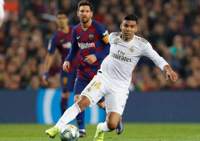 ريال مدريد يستقبل برشلونة في كلاسيكو