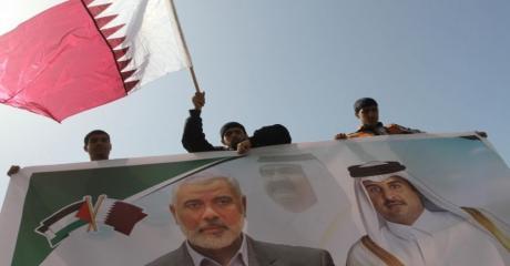 العمادي و الحردان يصلان غزة