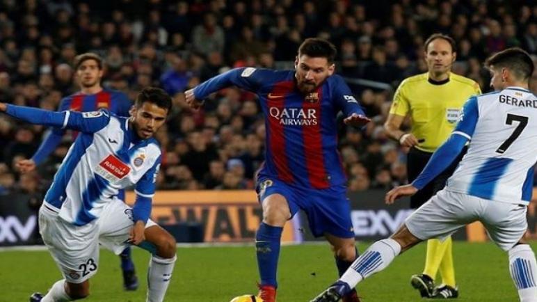 برشلونة علي موعد لمواجهة اسبانيول علي الكامب نو