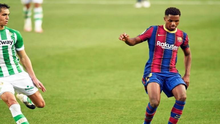فاتي لاعب برشلونة سيغيب عن الملاعب لمدة 4 اشهر بسبب الاصابة