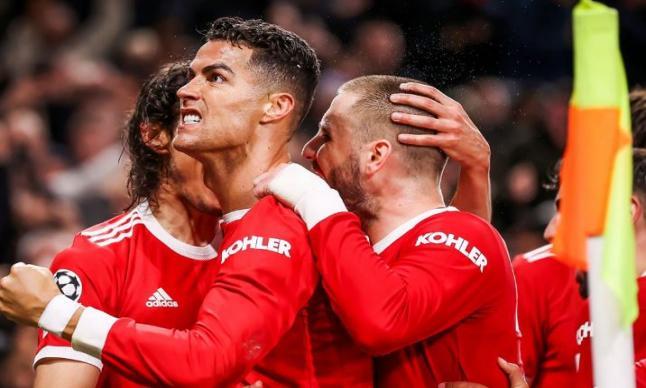 رونالدو يقود مانشستر يونايتد لصدارة المجموعة بفوز على اتالانتا