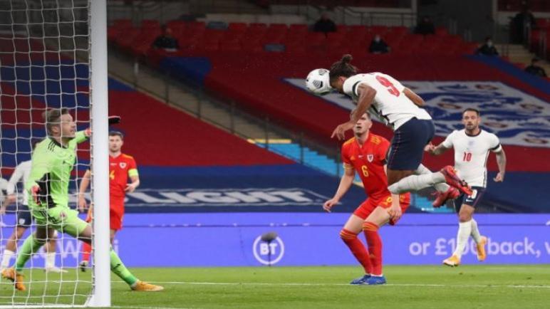 إنجلترا تفوز وديا علي ويلز بثلاثية