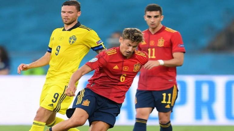 السويد تفرض التعادل السلبي علي إسبانيا