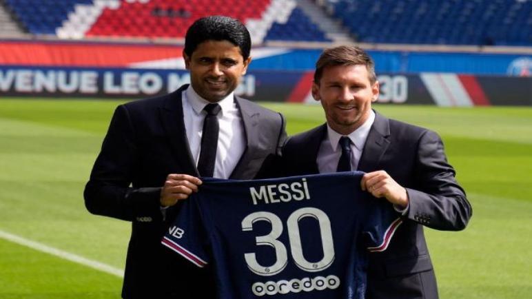 رسميا ميسي لاعبا لفريق باريس سان جيرمان لمدة عامين