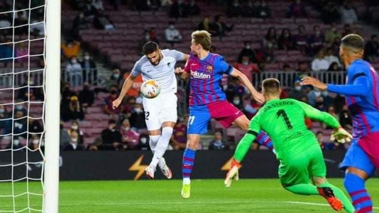 برشلونة يتعادل امام غرناطة علي الكامب نو بصعوبة