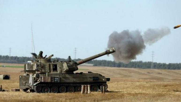 الجيش الاسرائيلي يقصف مراصد للمقاومة ويطلق النار علي المزارعين