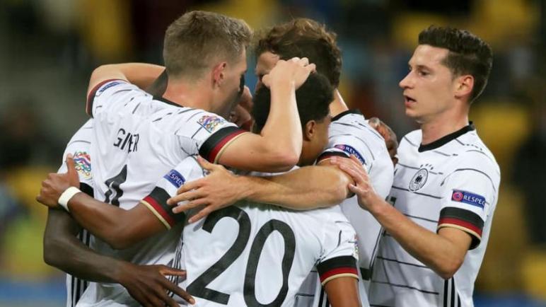 المانيا تحقق اول فوز لها في دوري الامم الاوروبية على حساب اوكرانيا