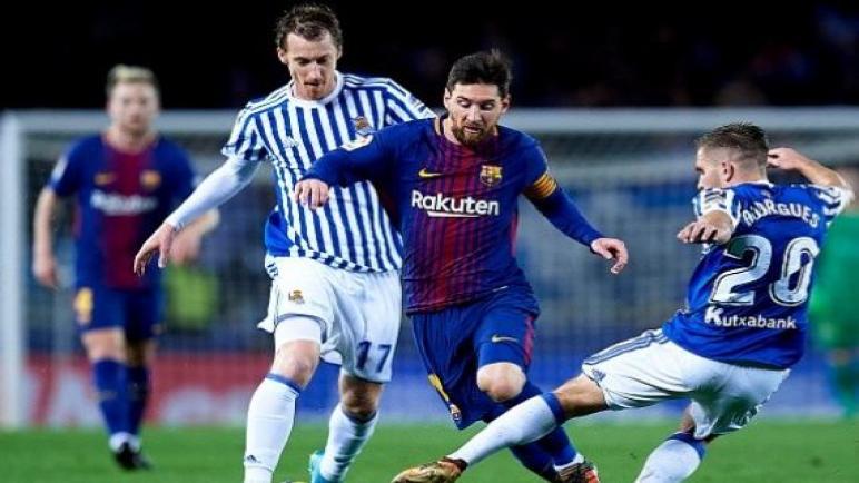 مواجهة قوية بين برشلونة وريال سوسيداد الليلة في كأس السوبر الإسباني