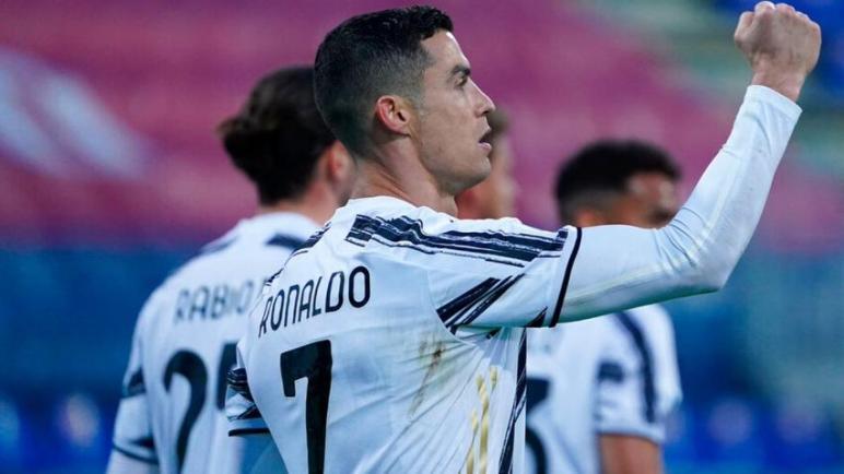 رونالدو يقود اليوفي للفوز بثلاثية في مرمى كالياري