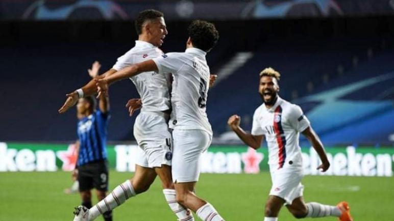 باريس سان جيرمان يقلب هزيمته لفوز في الوقت القاتل ويتأهل لنصف نهائي دوري الابطال