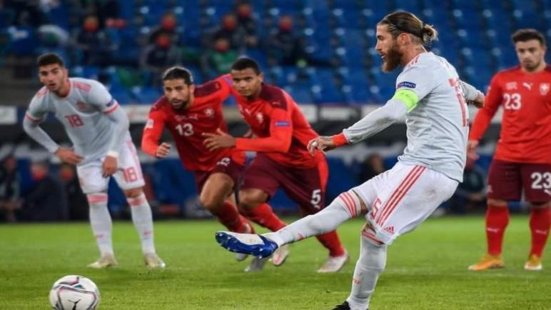 اسبانيا تفشل في الفوز على سويسرا واهدت الصدارة للالمان