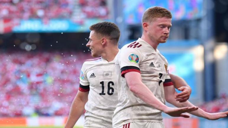 بلجيكا الى دور الـ16 عقب الفوز على الدنمارك