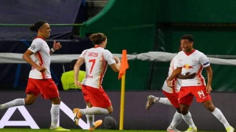 لايبزيغ يطيح بالاتلتيكو خارج الابطال ويتأهل لنصف نهائي البطولة