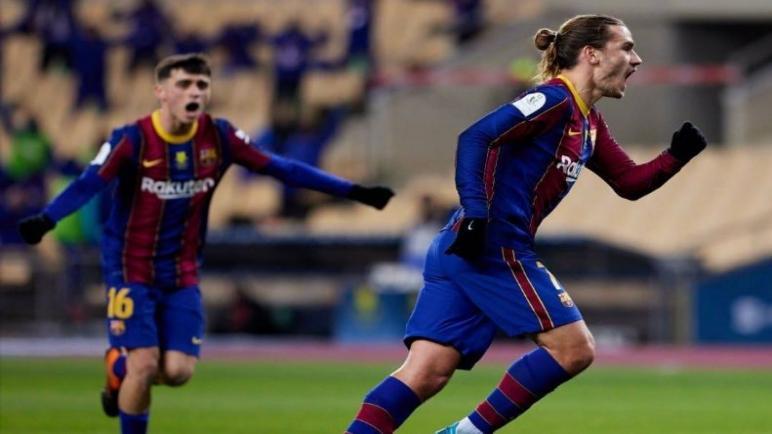 أتلتيك بلباو ينتصر على برشلونة و يتوج بطلا لكأس السوبر