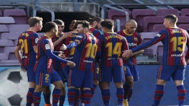 برشلونة يواجه فرينكفاروزي الليلة في الابطال