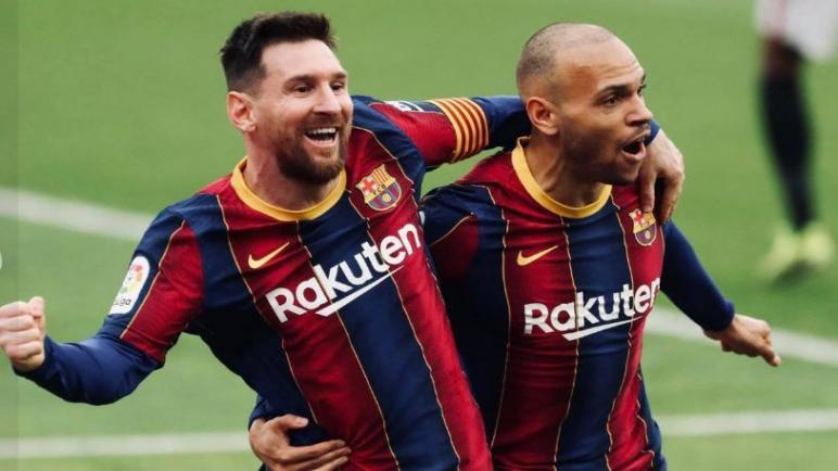 إشبيلية يواجه برشلونة علي الكامب نو في نصف النهائي الكاس