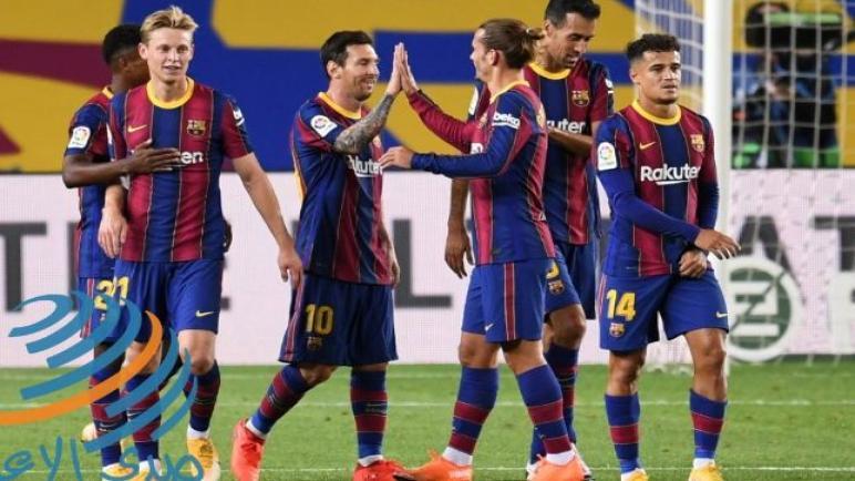 برشلونة يواجه خيتافي الليلة في الليغا