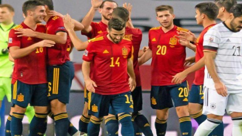 اسبانيا تضرب شباك الالمان بسداسية