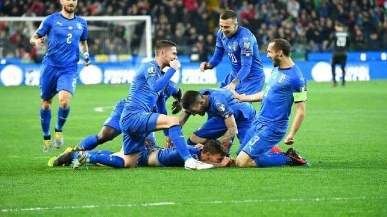 إيطاليا الى المربع الذهبي بعد تغلبه على منتخب البوسنة