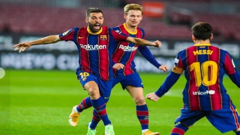 برشلونة يحقق الفوز علي ريال سوسيداد و يرتقي الى المركز الخامس