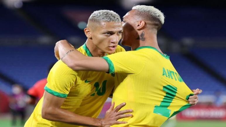 البرازيل تفوز علي ألمانيا برباعية في افتتاح اولمبياد طوكيو