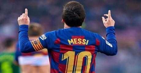برشلونة يكتسح ايبار بخماسية نظيفة وصدارة الليغا مؤقتاً