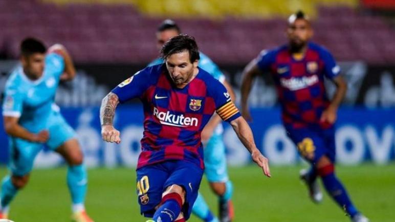 برشلونة يهزم ليغانيس بثنائية و يغرد بعيدا في صدارة الليغا