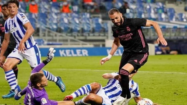 سوسيداد يوقف ريال مدريد في الجولة الاولي من انطلاق الليغا