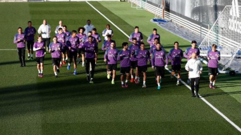 ريال مدريد يستأنف تدريباته الشهر المقبل