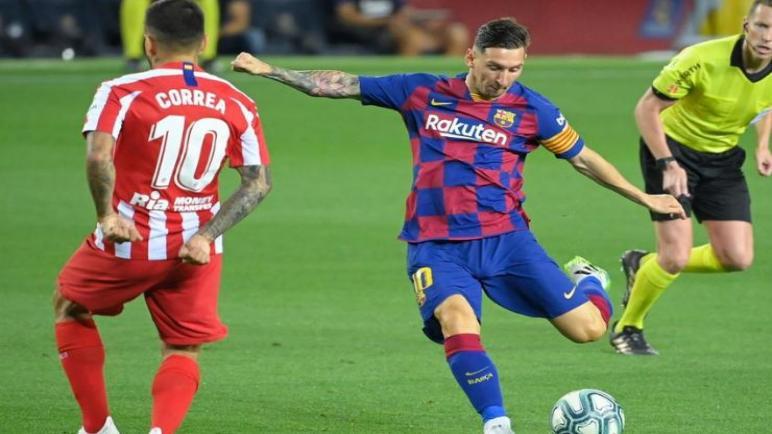 برشلونة ضيفا ثقيلا علي أتلتيكو مدريد