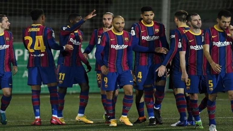 برشلونة يهزم كورنيا بهدفين ويتأهل لدور ثمن نهائي كأس اسبانيا