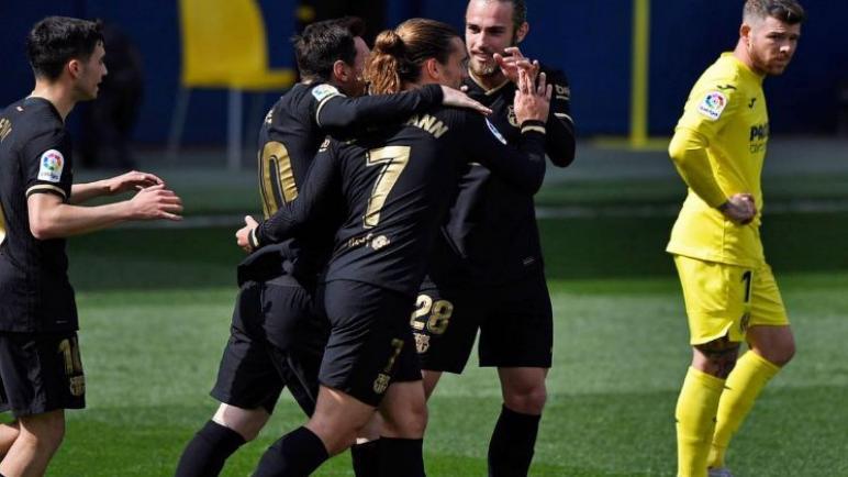برشلونة يفوز علي فياريال و يضيق الفارق مع اتلتيكو مدريد في صدارة الليغا