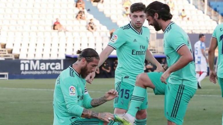 بطل الليغا ريال مدريد يتعادل مع ليجانيس ويطيح به الى الدرجة الثانية