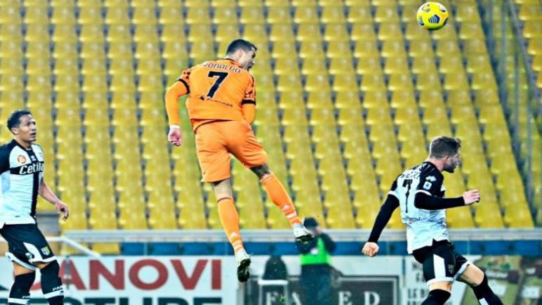 اليوفي يشعل المنافسة في ايطاليا بفوز ساحق على بارما