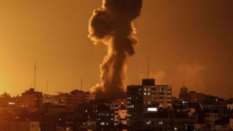 طائرات الاحتلال تنفذ عدة استهدافات علي غزة