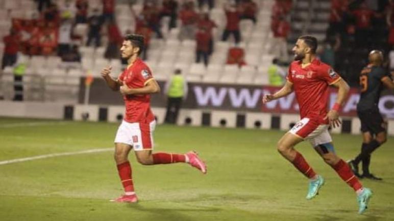 الاهلي بطل السوبر الأفريقي بعد فوزه علي نهضة