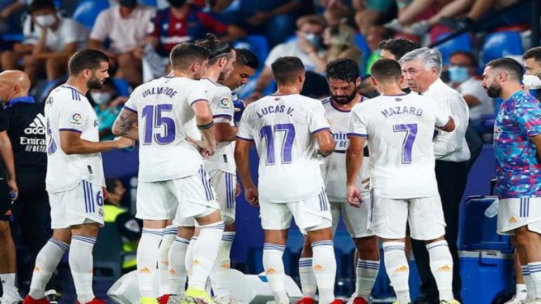 ريال مدريد يتعثر بتعادل مع ليفانتي