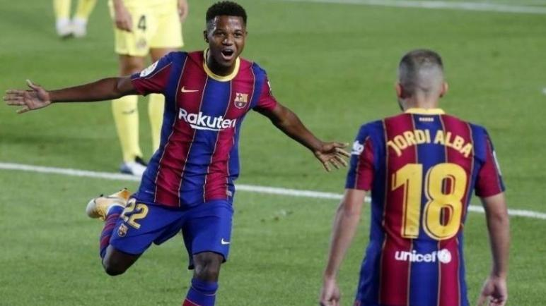 برشلونة ينجح في الاختبار الاول ويحقق الفوز علي فياريال
