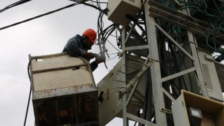 تحسين جدول وصول التيار الكهربائي في غزة