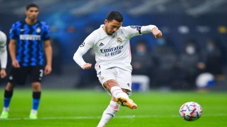 ريال مدريد ينتصر علي انتر ميلان بثنائية نظيفة
