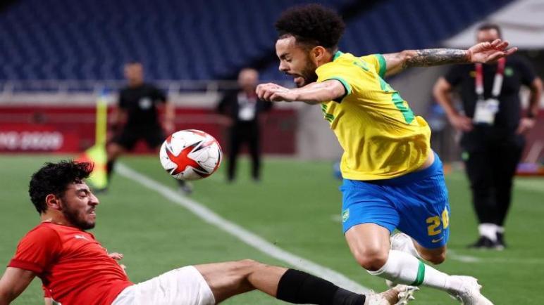 المنتخب المصري يغادر اولمبياد طوكيو بعد هزيمته من البرازيل