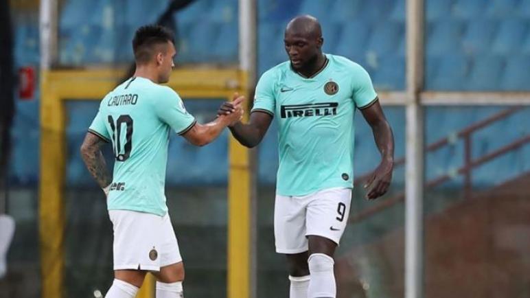 الانتر يهزم جنوى بثلاثية ويقفز الى المركز الثاني بترتيب الدوري الايطالي