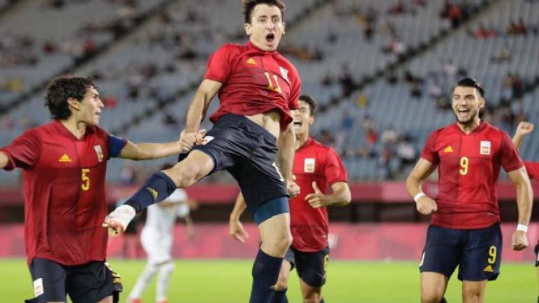 اسبانيا تمطر شباك ساحل العاج بخماسية وتتأهل الى نصف نهائي الاولمبياد