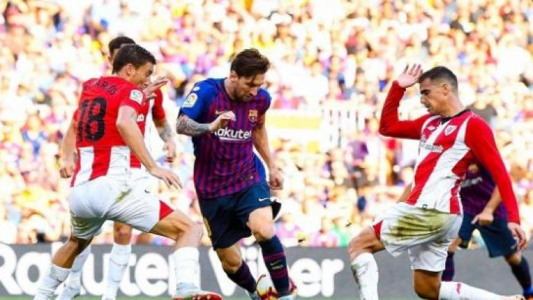 برشلونة يخوض الليلة مواجهة نارية ضد أتلتيك بيلباو