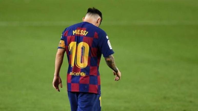 ليو ميسي يفكر بالرحيل عن اسوار نادي برشلونة