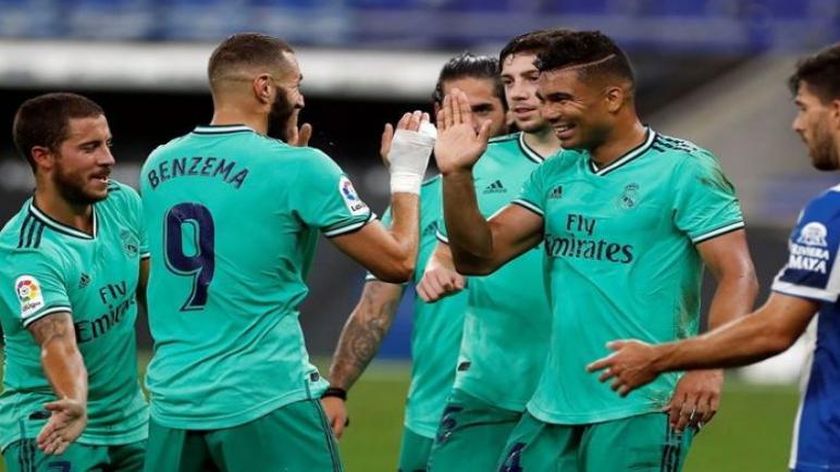 ريال مدريد يسقط اسبانيول بهدف كاسيميرو ويبتعد بصدارة الدوري الاسباني