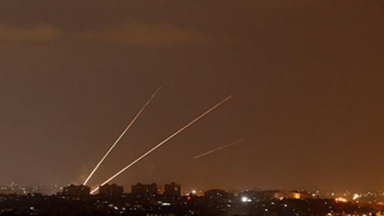 اطلاق صافرات الإنذار بعد اطلاق صواريخ من غزة
