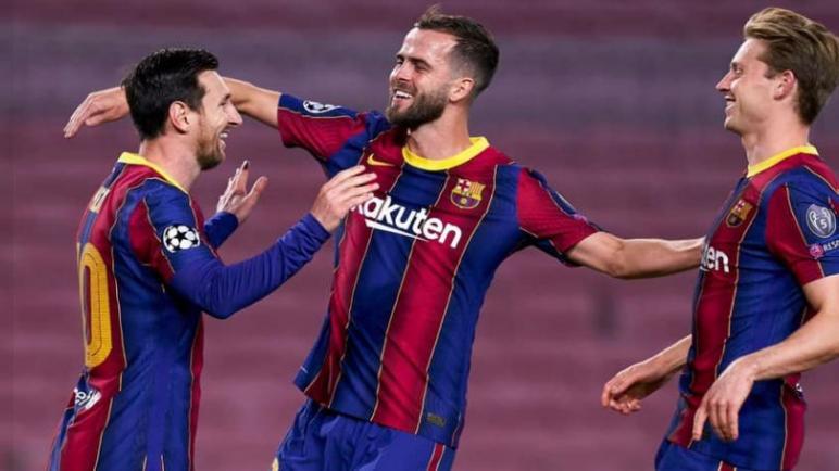 برشلونة يفوز علي دينامو كييف بصعوبة